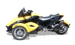 Three wheel motorcycle Stock Photo