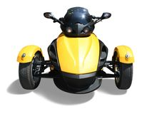 Three wheel motorcycle Royalty Free Stock Photography