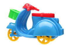 Three wheel motorcycle toy Royalty Free Stock Images