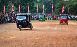 Three Wheel Race Royalty Free Stock Image