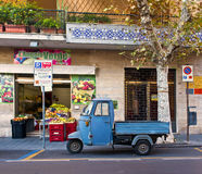 Three Wheeled Farm Truck, Italy Stock Image