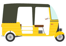 Three wheeled motor rickshaw. Stock Photography