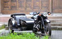 Three-wheeled motorcycle Royalty Free Stock Image