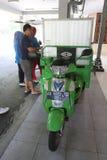 Three wheeled motorcycle Royalty Free Stock Photos