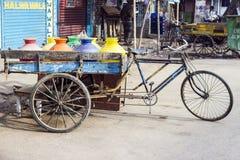 Three wheeler bike in India Stock Image