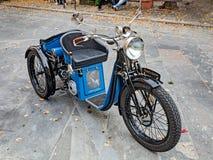 Three wheeler motorcycle Monet Goyon Royalty Free Stock Photo