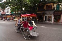 Three-wheeler taxi Royalty Free Stock Photos