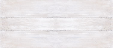 Three white wooden boards background Stock Image