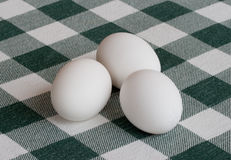 Three Whole Eggs Royalty Free Stock Photo