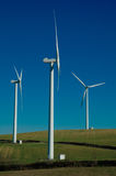 Three wind-turbine Stock Photos