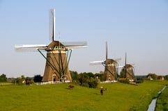 Three windmills Royalty Free Stock Image