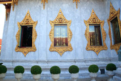 Three Window Temple. In Thailand Royalty Free Stock Photography