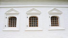 Three Windows Royalty Free Stock Photos