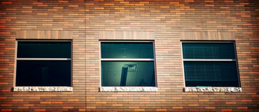 Three Windows Royalty Free Stock Image