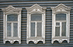 Three windows Stock Image