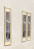 Three windows Royalty Free Stock Photos