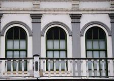 Three Windows Royalty Free Stock Photography