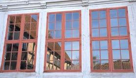 Three windows Royalty Free Stock Photo