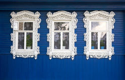 Three windows Royalty Free Stock Photography
