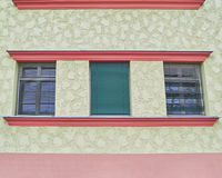 Three windows row Stock Photography