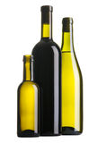 Three wine bottles Royalty Free Stock Image
