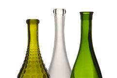 Three wine bottles Stock Photography