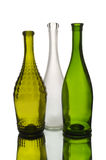 Three wine bottles Royalty Free Stock Photos