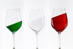 Free Three Wine Glasses Royalty Free Stock Photography - 49513747