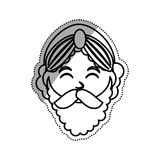 Three wise man cartoon Stock Photos