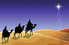 The Three Wise Men Royalty Free Stock Photos