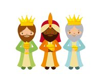 Three wise men design Royalty Free Stock Photos