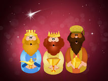 Three wise men Royalty Free Stock Photography
