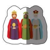 Three wise men Stock Image