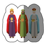 Three wise men Stock Photos