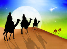 Three wise men Royalty Free Stock Photo