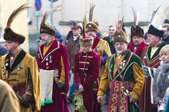 Three Wise Men Parade Stock Photos