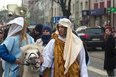 Three Wise Men Parade 2014 Stock Images