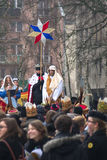 Three Wise Men Parade 2014 Stock Photography