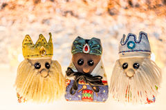 The three wise men Stock Photography