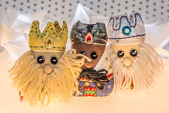 The three wise men Royalty Free Stock Image