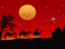Three wisemen Stock Photography