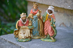 Three wisemen Royalty Free Stock Image