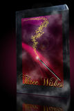 Three wishes magic wand Stock Photos