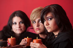 Three Witches Royalty Free Stock Image