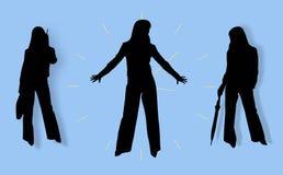 Three women Stock Photo