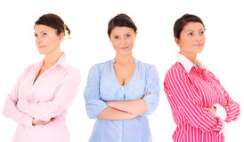 Three women Royalty Free Stock Images
