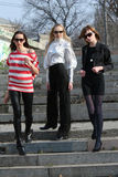 Three Women stock photography