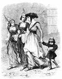 Three Women and Child Royalty Free Stock Images