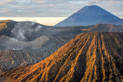 The Three Wonders of Bromo Tengger Semeru National Park Royalty Free Stock Photography
