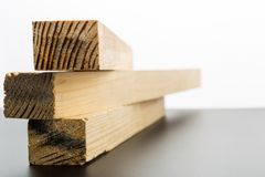 Three wooden planks Royalty Free Stock Photos